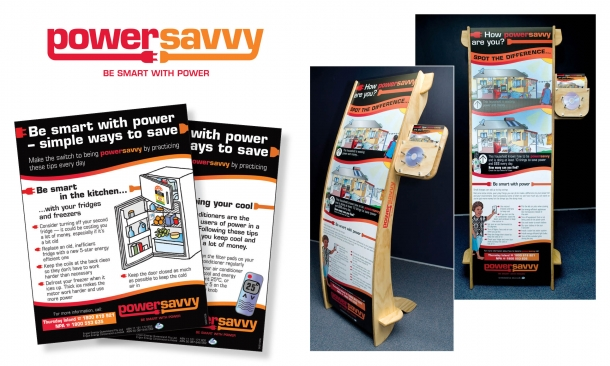 Ergon Energy | Powersavvy Posters and Signage