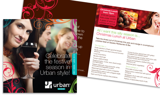 Urban Brisbane | 12-page Festive Season Brochure