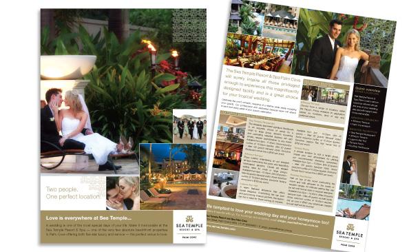 Sea Temple Resort & Spa Palm Cove | Weddings Fact Sheet/Sales Flyer