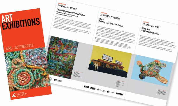 Cairns Regional Gallery | Exhibitions Brochure