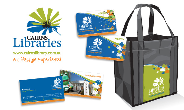 Cairns Regional Council | Cairns Libraries Corporate Branding