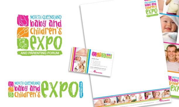 North Queensland Baby Expo | Corporate Branding