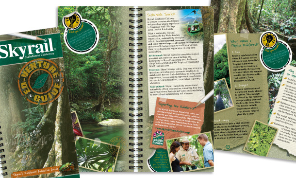 Skyrail Rainforest Cableway | 12-page Ed-Venture Education Guide